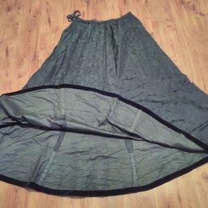Vintage Long Black Skirt